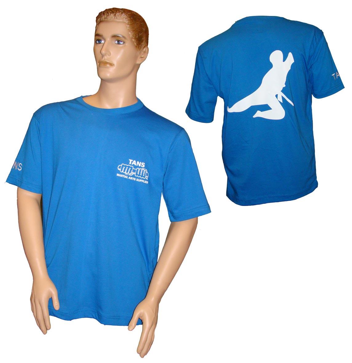 T.shirt Tans Single Jumping Kick-0