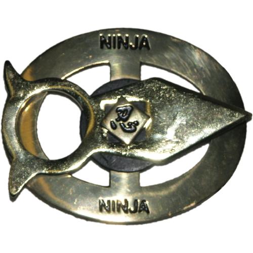 Ninja Metal Belt Buckle-0