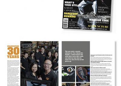 Tans Martial Arts features in the Complete Martial Artist Magazine