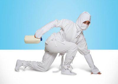 Tans Martial Arts creates white ninja uniform
