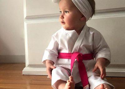 Tans Martial Arts Custom Baby Uniform