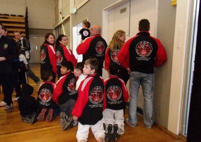 Tans Martial Arts Custom Club Tracksuits for Shoto Karate