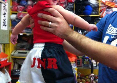 Tans Martial Arts Custom Baby Thai Shorts