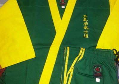 Tans Martial Arts Custom Club Uniform San chi Kai
